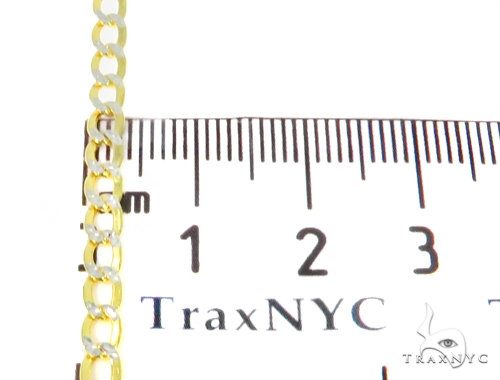 10k Yellow Gold Cuban/Curb n 22 Inches 4mm 4.1 Grams 44422 Gold