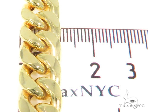 10k Yellow Gold Cuban/Curb n 28 Inches 11mm 79.10 Grams 44299 Gold