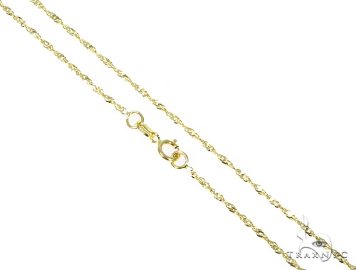 10k Yellow Gold Necklace 44833 Gold