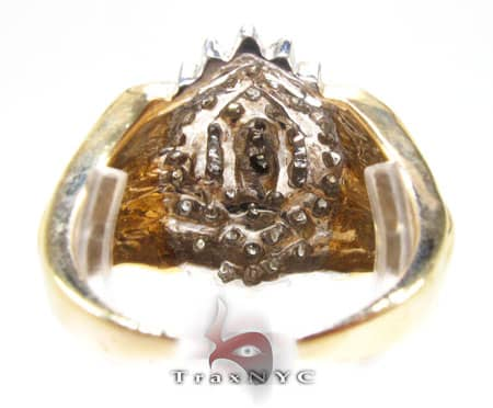 Ladies Crystal Ring Anniversary/Fashion