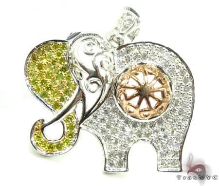 Elephant Charm Stone