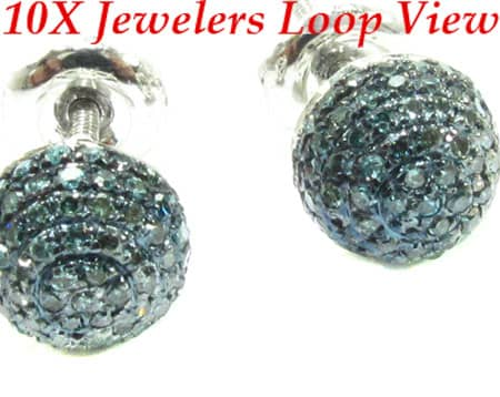 Blue Berry Studs Style