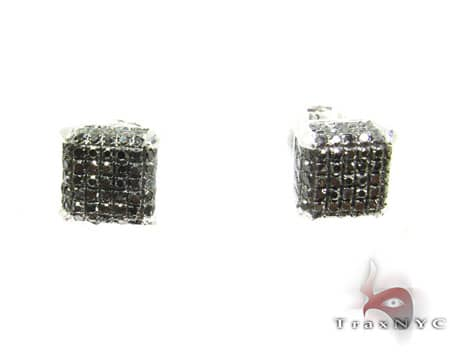 Black Diamond Ultra Earrings Mens Diamond Earrings