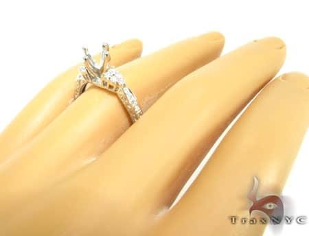 WG Clarabelle Semi-Mount Ring Engagement