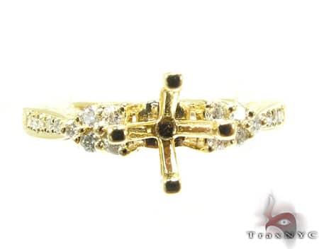 YG Clarabelle Semi-Mount Ring Engagement
