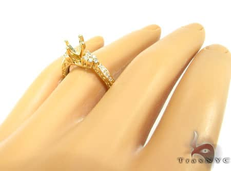 YG Clarabelle Semi-Mount Ring Engagement