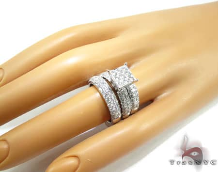 WG Hannah Wedding Ring Set Engagement