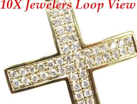 YG Manolo Cross Diamond