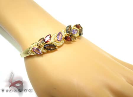 Bouquet Bracelet Gemstone & Pearl