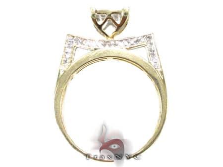 Ladies Edge Ring Engagement