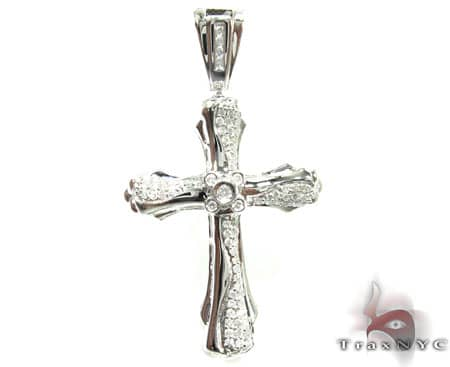 Center Bezel Cross Diamond