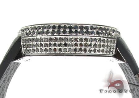 Fully Iced Black Diamond Digital Gucci Watch Gucci
