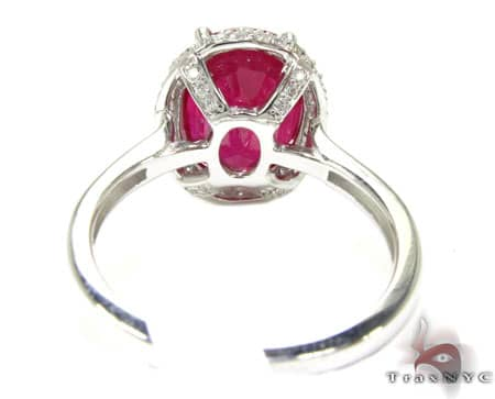 Erica's Ruby & Diamond Ring 2 Anniversary/Fashion