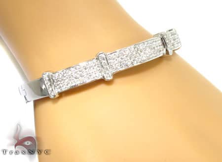 Salabina Bangle Bracelet Diamond