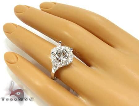 Roseta Semi Mount Ring Engagement