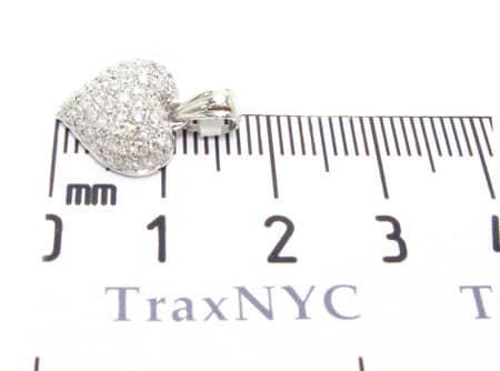 Mini Heart Pendant Stone