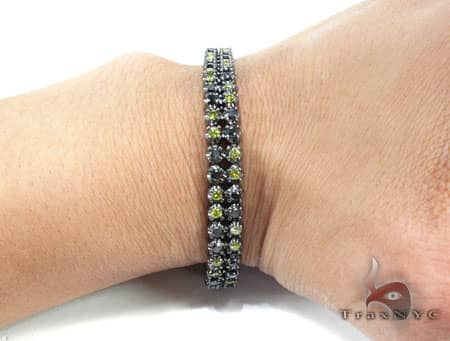 Black Diamond and Canary Bracelet Diamond