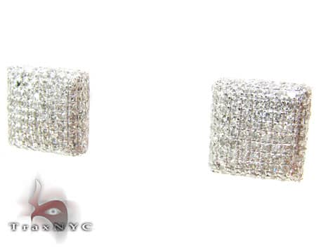 Ice Pillow Earrings 2 Stone