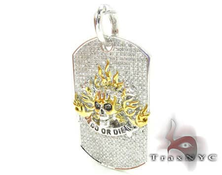 Do or Die Dog Tag Metal