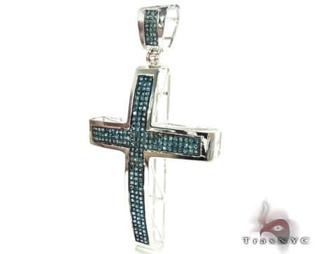 Blue Diamond Junior Cross Diamond