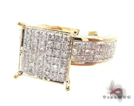 Yellow Gold Sultana Ring Diamond Wedding Rings