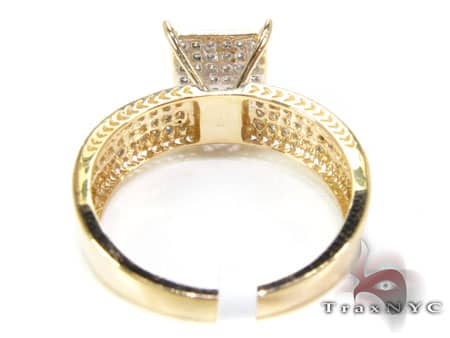 Yellow Gold Sultana Ring Engagement