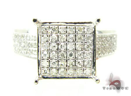 White Gold Sultana Ring Engagement