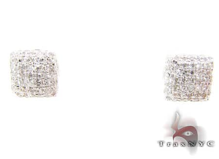 Mini Ice Pillow Earrings 2 Mens Diamond Earrings