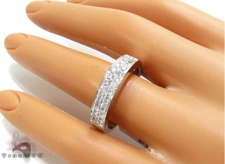 WG Two Row Perfection Band Wedding
