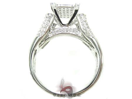 Golden Branch Ring Engagement