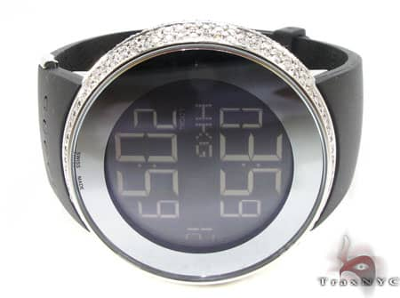 Fully Iced Digital Gucci Watch Gucci