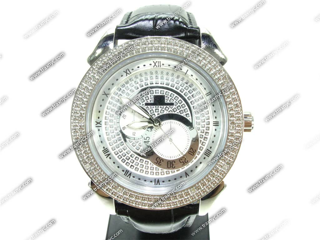 full size picture for super techno mens diamond watch m 6075