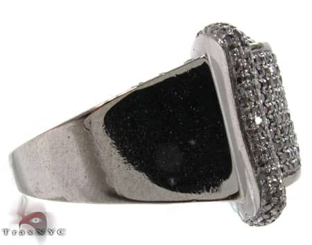 Black Bowtie Ring Stone