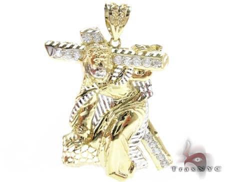 Small Crucifixion Pendant Metal