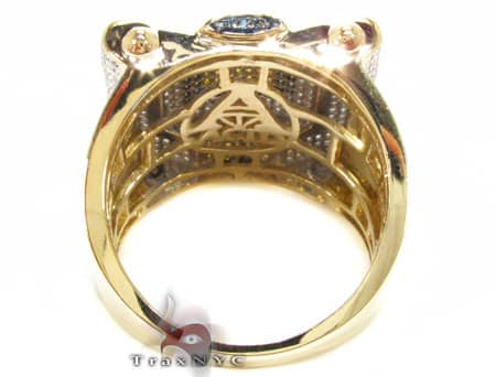 Multi Color Octi Ring 2 Stone