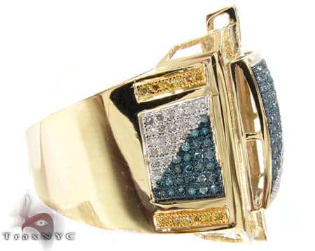 Multi Color Dynasty Ring Stone