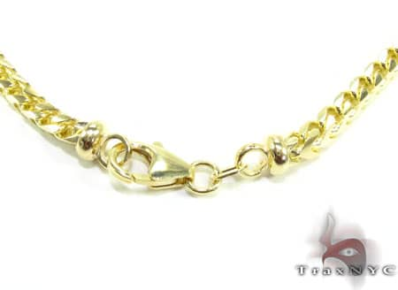 YG Franco Chain 30 Inches, 3mm, 56.0 Grams Gold