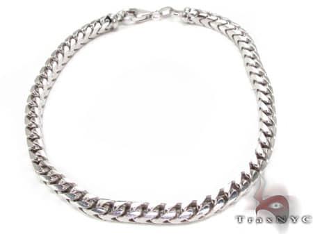 WG Franco Bracelet 8.75 Inches, 4.5mm, 24.70 Grams Gold