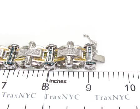 Multi Color Anchor Bracelet Diamond