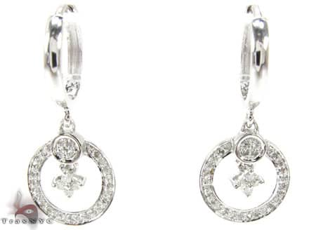 Yvette Earrings Stone