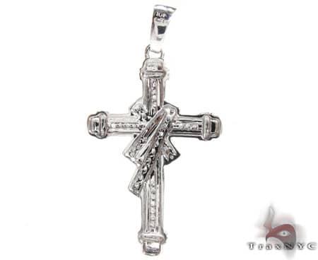 Small Channel Cross Diamond