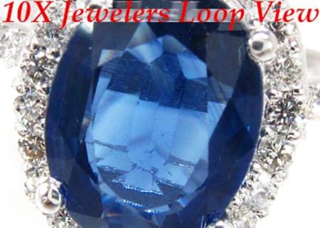 Sapphire Longitude Ring Anniversary/Fashion