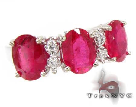 Tri Ruby Ring Anniversary/Fashion