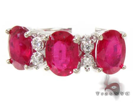 Tri Ruby Ring Anniversary/Fashion