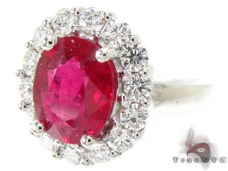 Ruby Island Ring Anniversary/Fashion