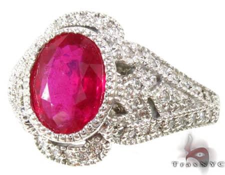 Big Veronica Ruby  Ring Anniversary/Fashion