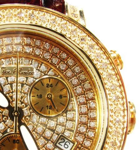 Joe Rodeo Steel & Diamond Passion Watch JPA14 Joe Rodeo & JoJo