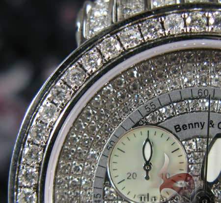 Benny & Co Full Iced Watch Benny & Co