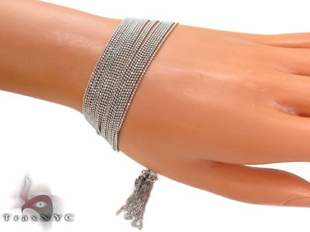 14K Draped Chain Bracelet Gold