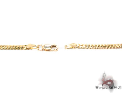 14K Gold Miami Cuban Chain 18 Inches, 2.5mm, 9.3 Grams Gold